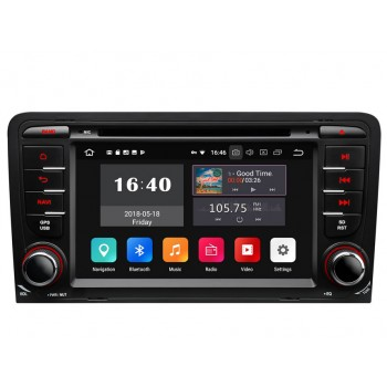 Estereo Audi A3 Android 8.0